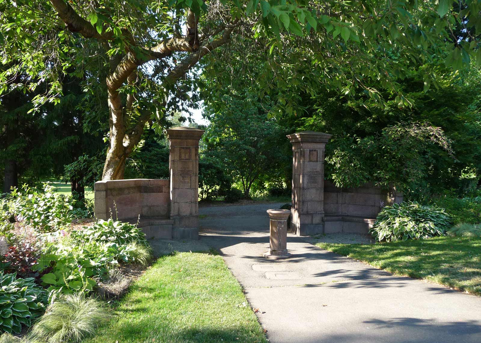 Cowen Park Portal This Feature First Appeared In Pacific